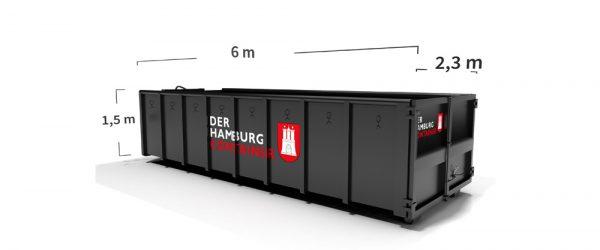 18 m³ container