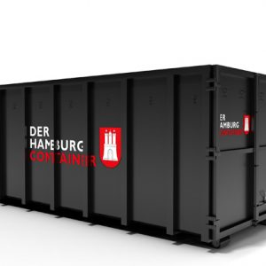 24 kubikmeter Abrollcontainer