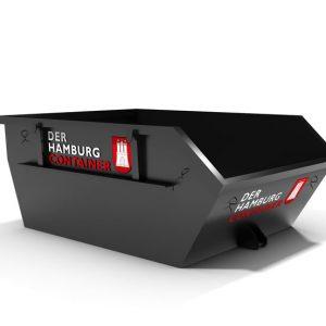 Absetzcontainer mit 3 Kubikmeter Fassungsvermögen
