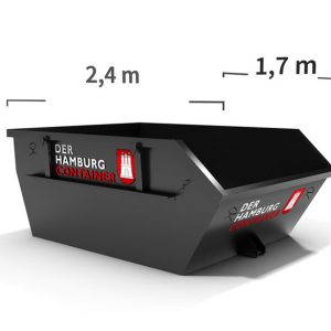 Absetzcontainer mit 3 Kubikmeter