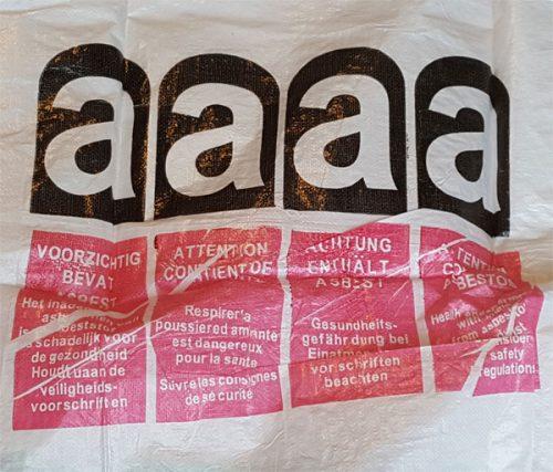 Big Bag für Asbest gleich mitbestellen