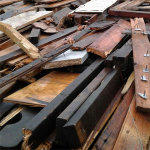 Holz A4 muss gesondert entsorgt werden. Bestenfalls mit einem Hamburg Container